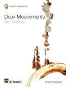 【輸入楽譜】ウェニャン, Andre: 2つの楽章(Alto Sax,P)
