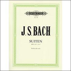 【輸入楽譜】バッハ, Johann Sebastian: 無伴奏チェロ組曲 BWV 1007-1012