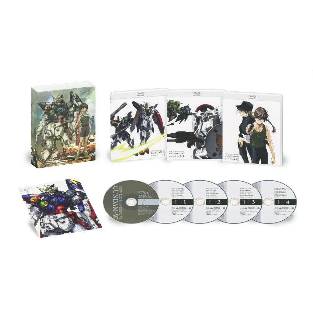 新機動戦記ガンダムW Blu-ray Box 1(特装限定版)【Blu-ray】 [ 緑川光 ]