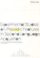 Experimental studies on prosodic feature