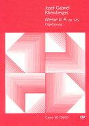 【輸入楽譜】ラインベルガー, Joseph Gabriel: ミサ イ長調 Op.126 「主の降誕」(ラテン語)/女声合唱用編曲