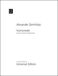 【輸入楽譜】ツェムリンスキー, Alexander von: 木管五重奏のためのユモレスク(ロンド)