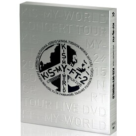 2015 CONCERT TOUR KIS-MY-WORLD【通常盤 DVD】 [ Kis-My-Ft2 ]
