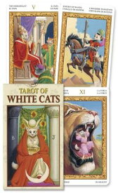 TAROT OF WHITE CATS MINI [ LO SCARABEO ]