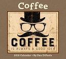 Coffee 2018 Deluxe Wall Calendar