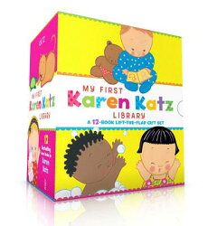 My First Karen Katz Library: Peek-A-Baby; Where Is Baby's Tummy?; What Does Baby Say?; Kiss Baby's B