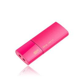 USB3.0フラッシュメモリ64GB Blaze B05 ピンク