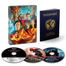 【楽天ブックス限定商品】スパイダーマン:ファー・フロム・ホーム ブルーレイ&DVD&4K ULTRA HD スチールブック仕様(完全数量限定)(75mm缶バッジ3個セット付き)【4K ULTRA HD】 [ トム・ホランド ]