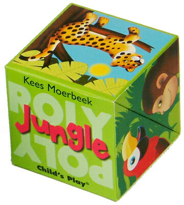 Jungle JUNGLE (Roly Poly Box Books) [ Kees Moerbeek ]