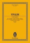 【輸入楽譜】ヴィヴァルディ, Antonio: 2本のトランペットのための協奏曲 ハ長調 F.IV, N.1 RV 537: スタディ・スコア