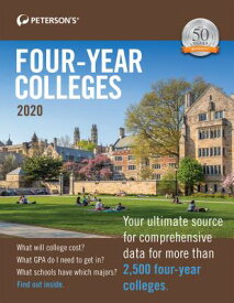 Four-Year Colleges 2020 4-YEAR COLLEGES 2020 50/E [ Peterson's ]