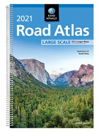 Rand McNally 2021 Large Scale Road Atlas RM 2021 LARGE SCALE ROAD ATLAS [ Rand McNally ]