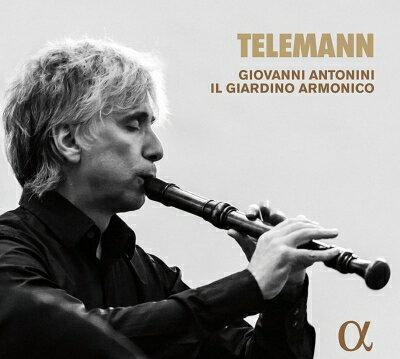 【輸入盤】リコーダーまたはシャリュモーを伴う協奏曲、組曲、ソナタ集 ジョヴァンニ・アントニーニ&イル・ジャルディーノ・アルモニコ [ テレマン(1681-1767) ]