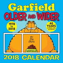 Garfield 2018 Wall Calendar: Older and Wider