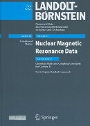 Nuclear Magnetic Resonance Data: Subvolume D: Chemical Shifts and Coupling Constants for Carbon-13: