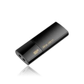 USB3.0フラッシュメモリ64GB Blaze B05 ブラック