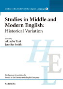 Studies in Middle and Modern English: Historical Variation