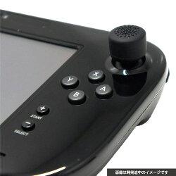 CYBER ・ アナログスティックカバー HIGHタイプ (Wii U GamePad 用) ブラック