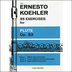 【輸入楽譜】ケーラー, Ernesto: 35の練習曲 Op.33 第1巻