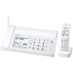 Panasonic デジタルコードレス普通紙FAX(子機1)(ホワイト) KX-PD205DL-W