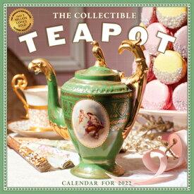 Collectible Teapot & Tea Wall Calendar 2022: 365 Days of Afternoon Tea and Delectable Treats. COLLECTIBLE TEAPOT & TEA WALL [ Workman Calendars ]