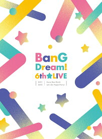 BanG Dream! 6th☆LIVE【Blu-ray】 [ (ゲーム・ミュージック) ]