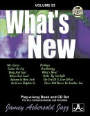 Jamey Aebersold Jazz -- What's New, Vol 93: Book & CD