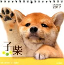 【卓上】子柴カレンダー(2017)