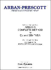 【輸入楽譜】アーバン, Jean-Baptiste & プレスコット, Gerald R.: チューバのためのファースト・アンド・セカンド…