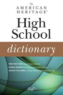 The American Heritage High School Dictionary