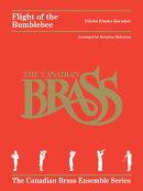 【輸入楽譜】リムスキー=コルサコフ, Nikolai Andreevich: 熊蜂の飛行(カナディアンブラス版)(2本のトランペット, …