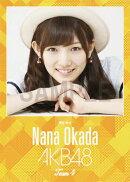 (卓上) 岡田奈々 2016 AKB48 カレンダー【生写真(2種類のうち1種をランダム封入)】【楽天ブックス独占販売】