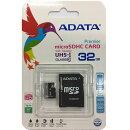 ADATA microSDHC Class10 32GB アダプタ付