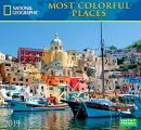 National Geographic Most Colorful Places 2019 Calendar