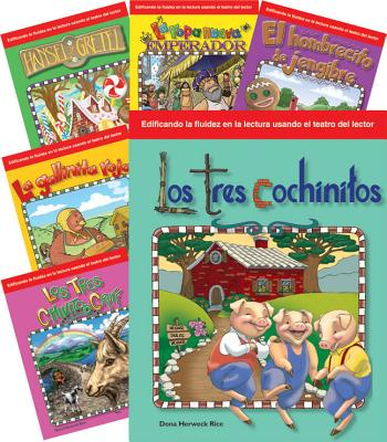 Children's Folk Tales and Fairy Tales 6-Book Spanish Set (Reader's Theater) SPA-CHILDRENS FOLK TALES &-6CY (Teacher Created Materials Library) [ Teacher Created Materials ]