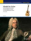 【輸入楽譜】ヘンデル, Georg Friedrich: ギターのためのヘンデル: ギターのために編曲した33の小品/ヘーゲル編曲