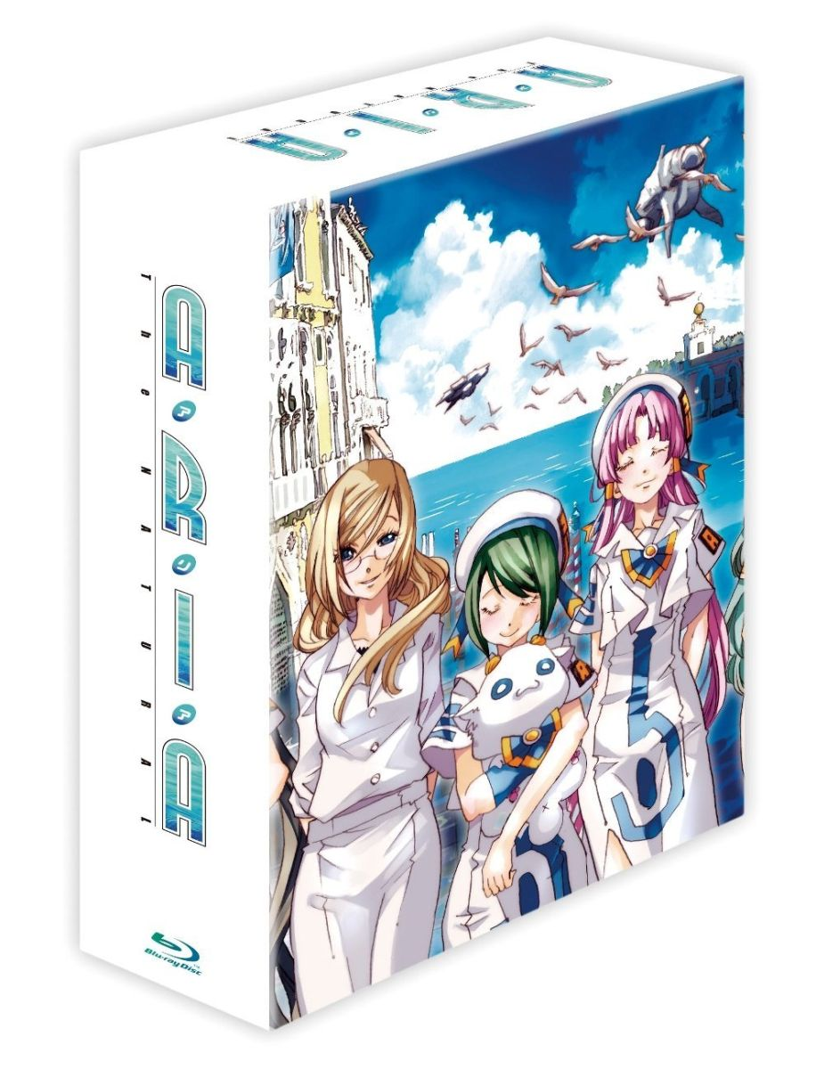 ARIA The NATURAL Blu-ray BOX 【Blu-ray】 [ 葉月絵理乃 ]