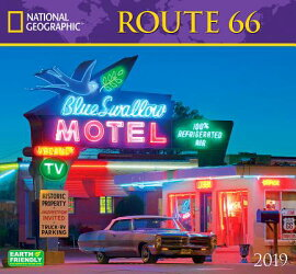 National Geographic Route 66 2019 Calendar