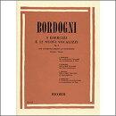 【輸入楽譜】ボルドーニ, Giulio(Marco): 3つの練習曲と12の新しいヴォカリーズ Op.8(ソプラノ/テノール用)