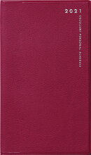 2021年 1月始まり No.263 リベルデュオ 3 [クラッシーレッド] 高橋書店 手帳判
