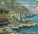 Thomas Kinkade Painting on Location 2019 Deluxe Wall Calendar: The Plein Air Collection
