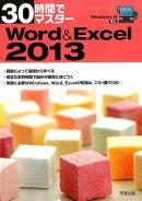 30時間でマスター Windows8対応 Word&Excel2013