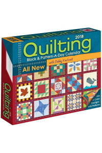 QuiltingBlock&Pattern-A-Day2018CalendarCAL2018-QUILTINGBLOCK&PATT[DebbyKratovil]
