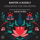 【輸入盤】バルトーク:管弦楽のための協奏曲、コダーイ:管弦楽のための協奏曲 ヤクブ・フルシャ&ベルリン放送交…