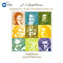 ベートーヴェン:交響曲 第3番「英雄」 バレエ音楽「プロメテウスの創造物」序曲 劇音楽「エグモント」序曲 [ ルドルフ…