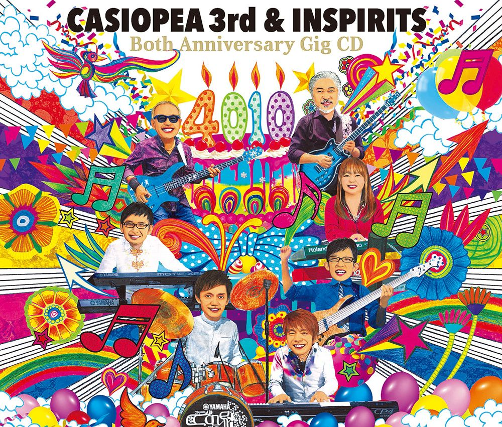 『4010』 Both Anniversary Gig CD [ CASIOPEA 3rd & INSPIRITS ]