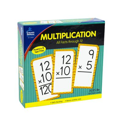 Multiplication All Facts Through 12 Flash Cards MULTIPLICATION ALL FACTS THROU [ Carson-Dellosa Publishing ]