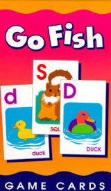 Go Fish Alphabet Game Cards: Game Cards GO FISH ALPHABET GAME CARDS (Game Card) [ School Zone Staff ]