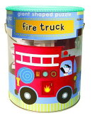 Giant Shaped Puzzles: Fire Truck
