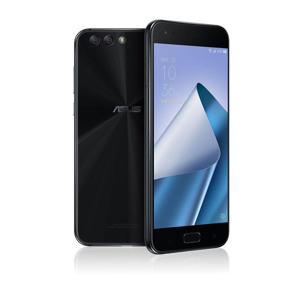 ASUS ZenFone 4 ミッドナイトブラック( Qualcomm Snapdragon 660 / メモリ6G / ストレージ64G / 指紋センサー ) ZE554KL-BK64S6